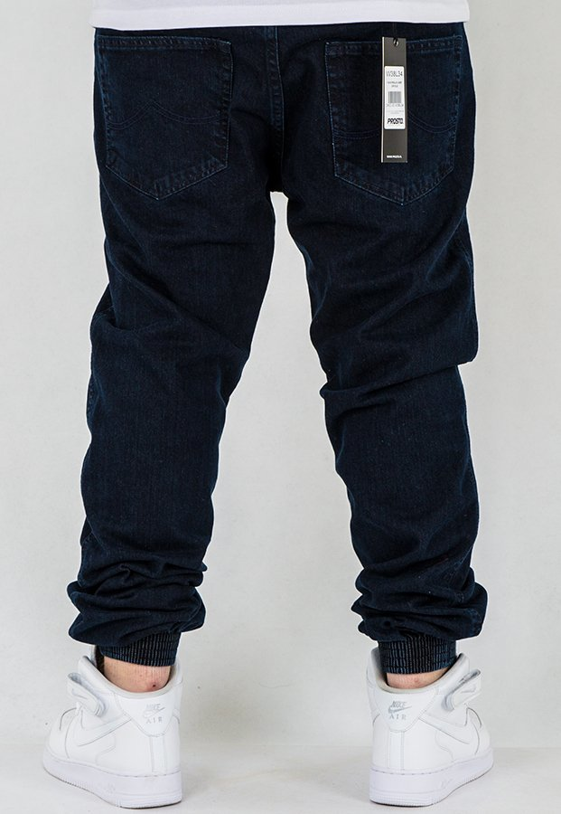 Spodnie Prosto Joggery Regular medium blue