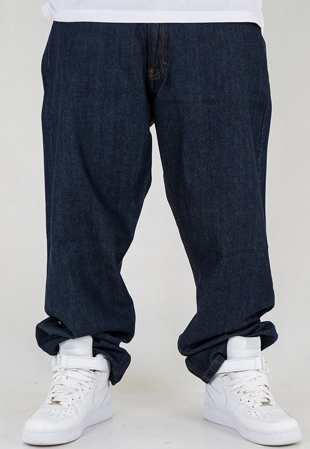 Spodnie SSG City Baggy dark blue