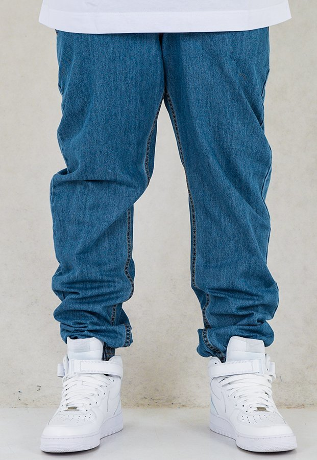 Spodnie SSG Joggery Pion light blue