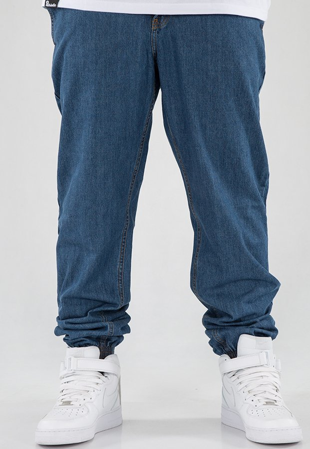 Spodnie SSG Joggery Regular Jeans Classic light blue