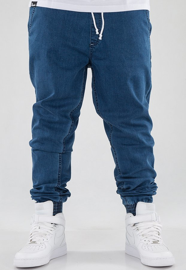Spodnie SSG Joggery Slim Jeans light