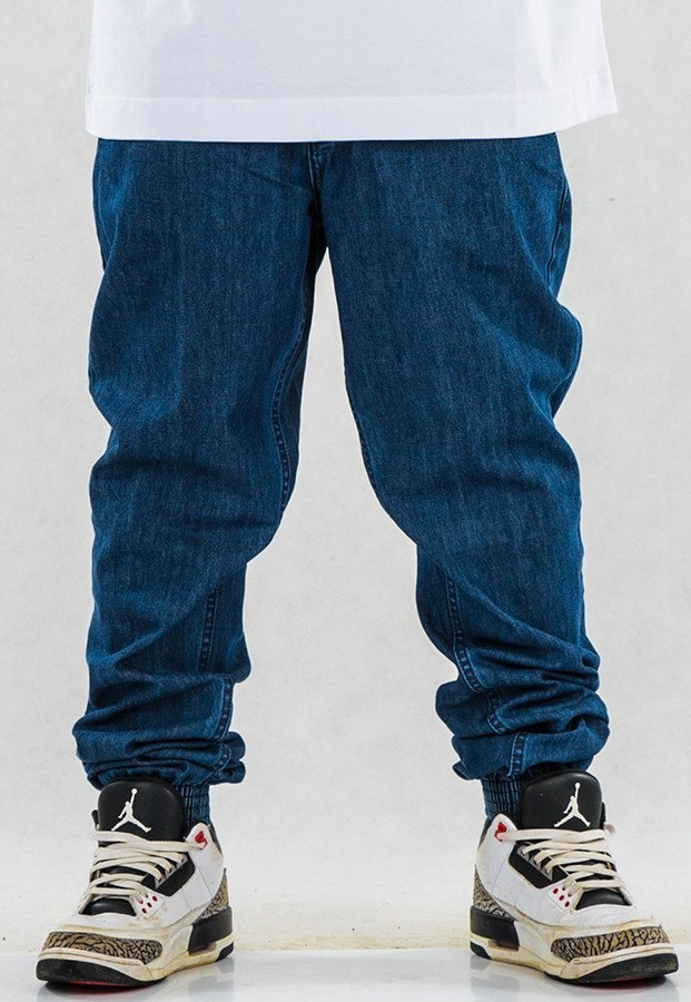 Spodnie SSG Joggery medium blue