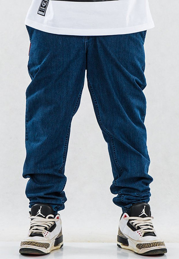 Spodnie SSG Joggery medium dark blue