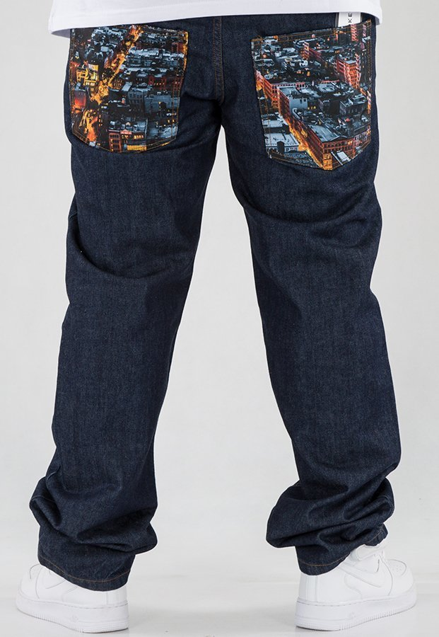 Spodnie SSG Regular Dark City Pocket dark blue