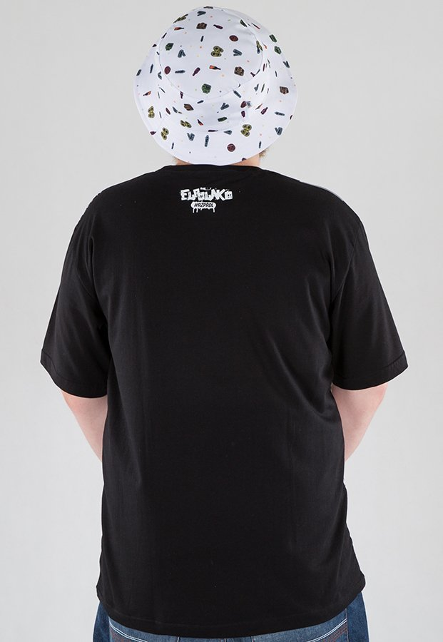 T-shirt El Polako Hip Hop Elements czarny