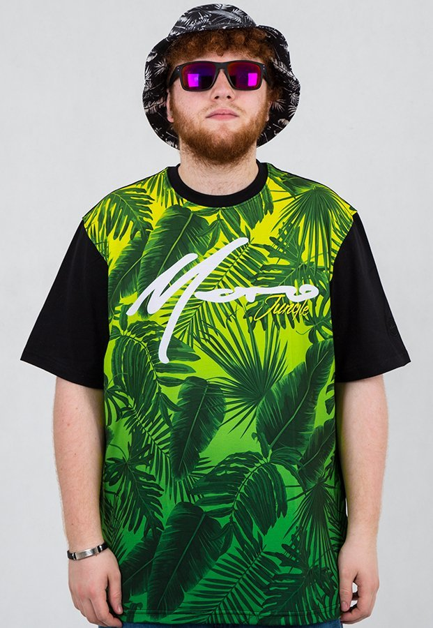 T-shirt Moro Sport Jungle czarny