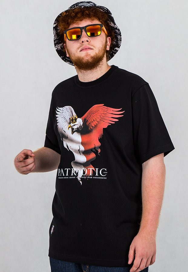 T-shirt Patriotic Eagle 2 czarny