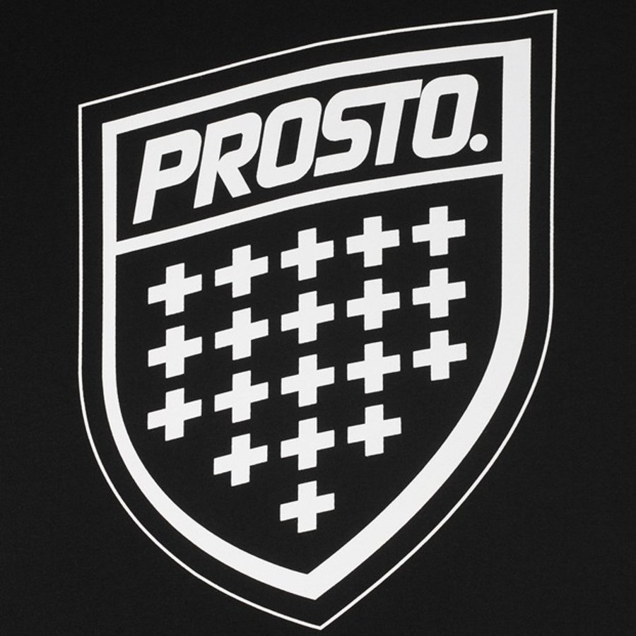 T-shirt Prosto Assist czarny