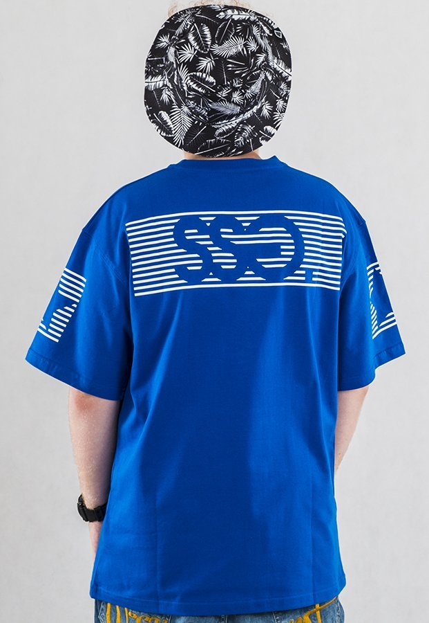 T-shirt SSG S-Stripes niebieski