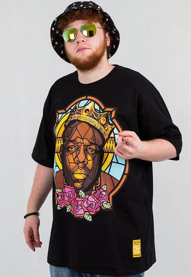 T-shirt Stoprocent Biggie czarny