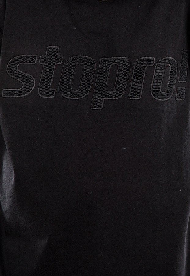 T-shirt Stoprocent Stopro DSTN czarny
