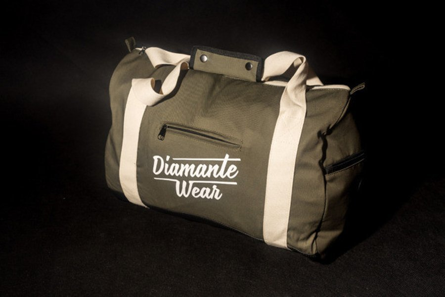 Torba Diamante Wear Duffle oliwkowa
