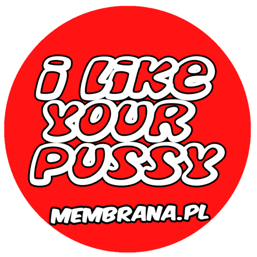 Wlepa I Like Your Pussy czerwona