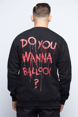 Bluza Diamante Wear Do You Wanna Balloon? czarna