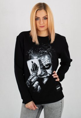Bluza Diamante Wear Why So Serious?! Unisex czarna