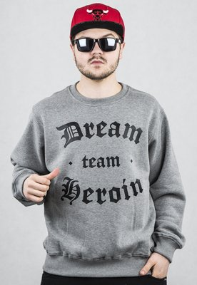 Bluza Fandango Records Dream Team ciemno szara
