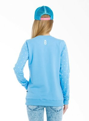 Bluza Lucky Dice New Crewneck Girl niebieska