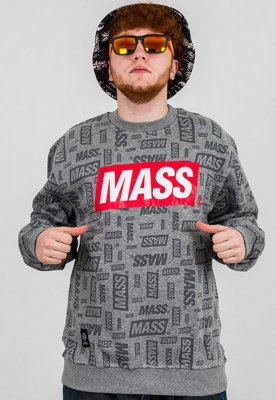 Bluza Mass The Logos szara