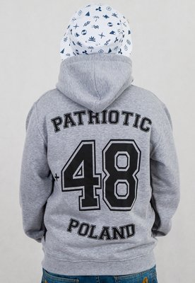 Bluza Patriotic 48 Star Zip szara