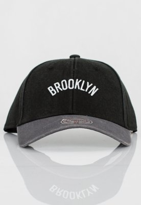 Czapka Flexfit Mitchell & Ness NBA 2 Tone Wordmark Brooklyn Nets