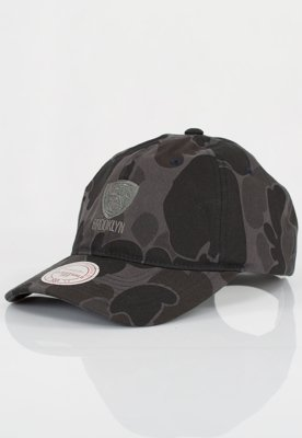 Czapka Flexfit Mitchell & Ness NBA Camo Slouch Brooklyn Nets