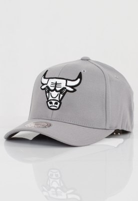 Czapka Flexfit Mitchell & Ness NBA Gull Grey 110 Chicago Bulls