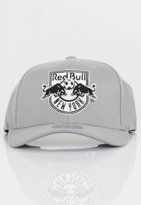 Czapka Flexfit Mitchell & Ness NBA Gull Grey Red Bull
