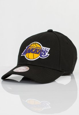 Czapka Flexfit Mitchell & Ness NBA UE Classic LA Lakers czarna
