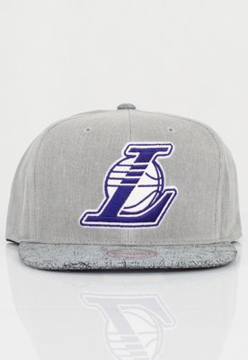 Czapka Snapback Mitchell & Ness NBA Cracked LA Lakers