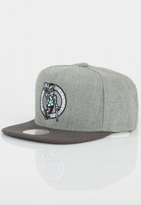 Czapka Snapback Mitchell & Ness NBA Heather Reflective Boston Celtics