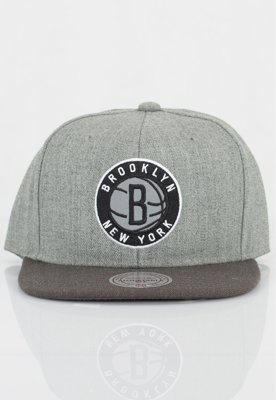 Czapka Snapback Mitchell & Ness NBA Heather Reflective Brooklyn Nets