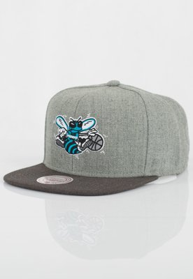 Czapka Snapback Mitchell & Ness NBA Heather Reflective Hornets