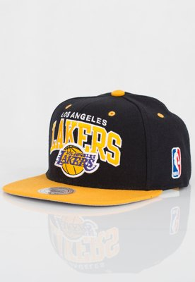 Czapka Snapback Mitchell & Ness NBA Team Arch LA Lakers