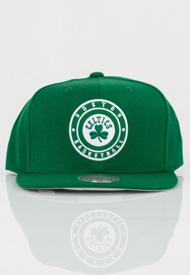Czapka Snapback Mitchell & Ness NBA Twill Circle Boston Celtics