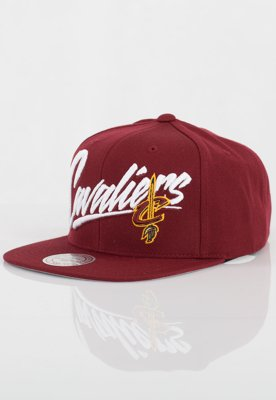 Czapka Snapback Mitchell & Ness NBA Vice Script Solid Cleveland Cavaliers