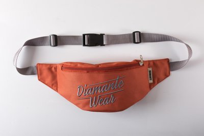 Nerka Diamante Wear Diamante Logo BIG miedziano szara