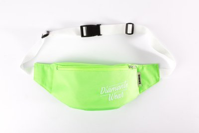 Nerka Diamante Wear Diamante Logo neonowa zieleń