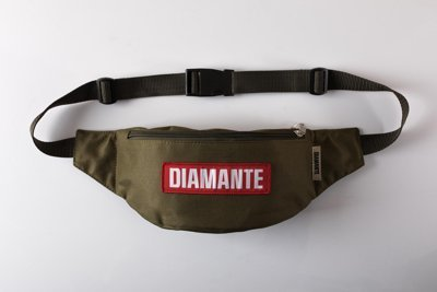 Nerka Diamante Wear Diamante Red Logo khaki