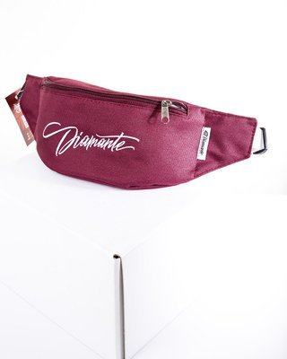Nerka Diamante Wear Diamante Tag bordowa