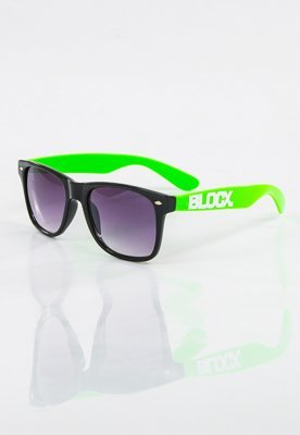Okulary Blocx Black X Green 17