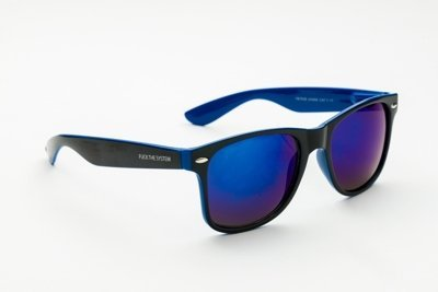 Okulary Blocx Black x Dark Blue  P15 311
