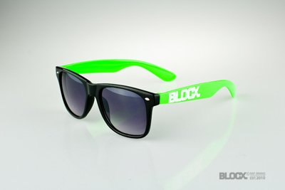 Okulary Blocx Black x Green 2014 39