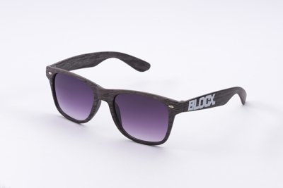 Okulary Blocx Black x Wood P0A 334