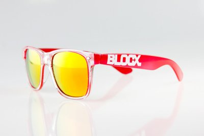 Okulary Blocx Clear x Red 034