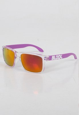 Okulary Blocx Freestyle Clear x Purple 118