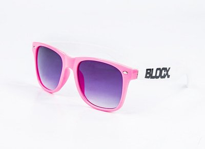 Okulary Blocx Pink x White