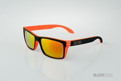 Okulary Blocx Slim x Orange Mat Mirror 2015 62