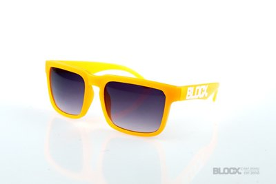 Okulary Blocx Square Neon Orange