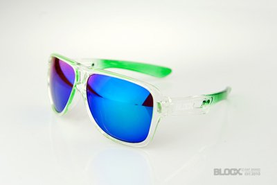 Okulary Blocx Vision Clear x Green FTS 2015 53