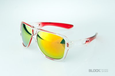 Okulary Blocx Vision Clear x Red FTS 2015 54